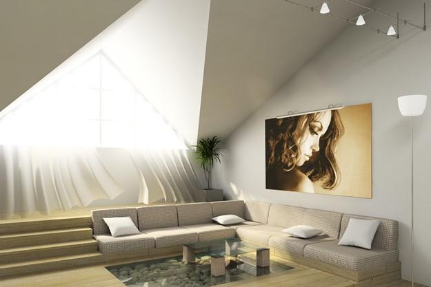 Ideas para decorar un tico decoraci n de interiores la - Ideas para aticos ...